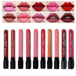 Other - 💄 10 Nani Matte super long lasting lips